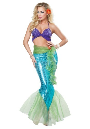 Adult Women's Mythic Mermaid Costume