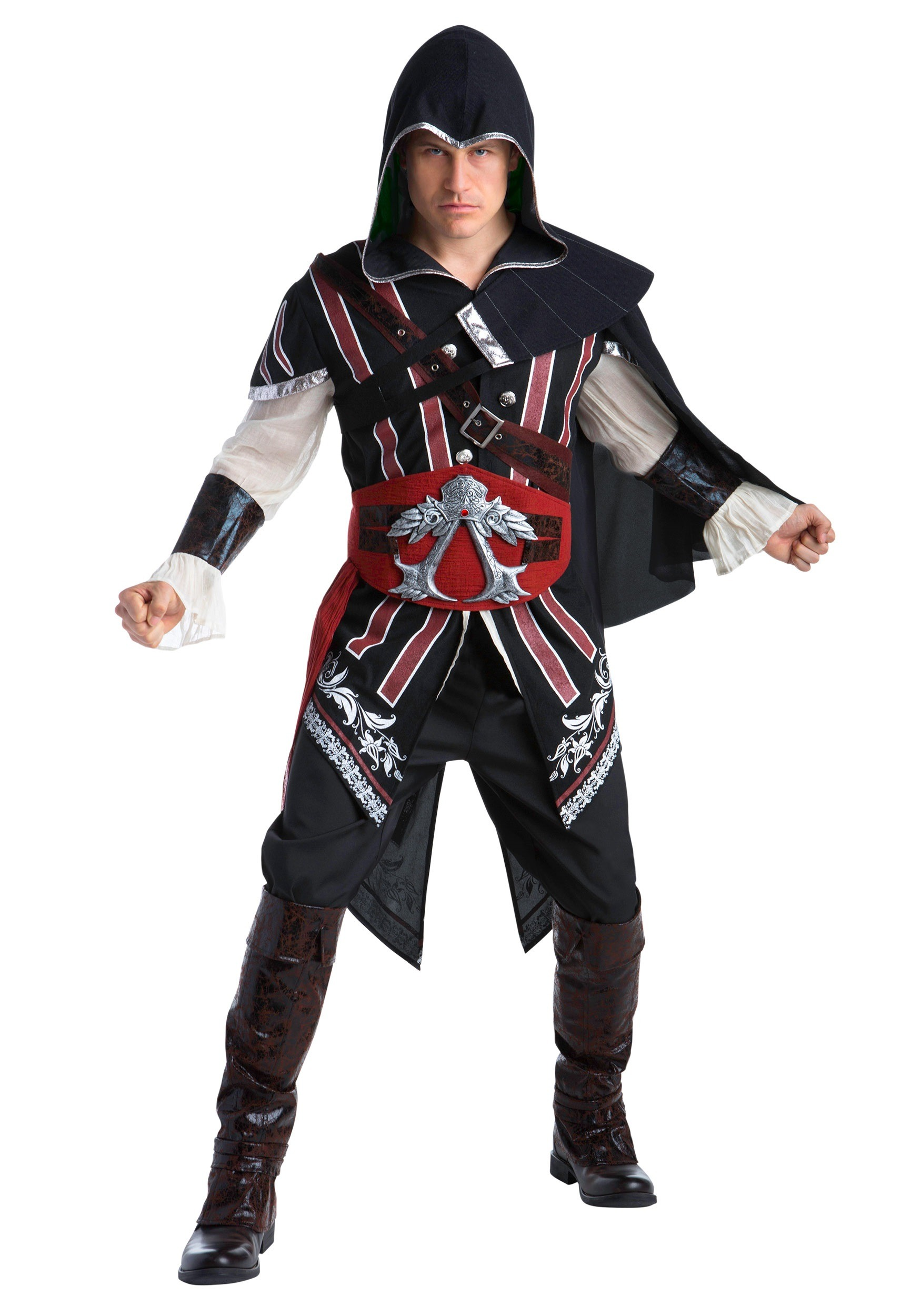 Assassins Creed Ezio Deluxe Fancy Dress Costume for Adults