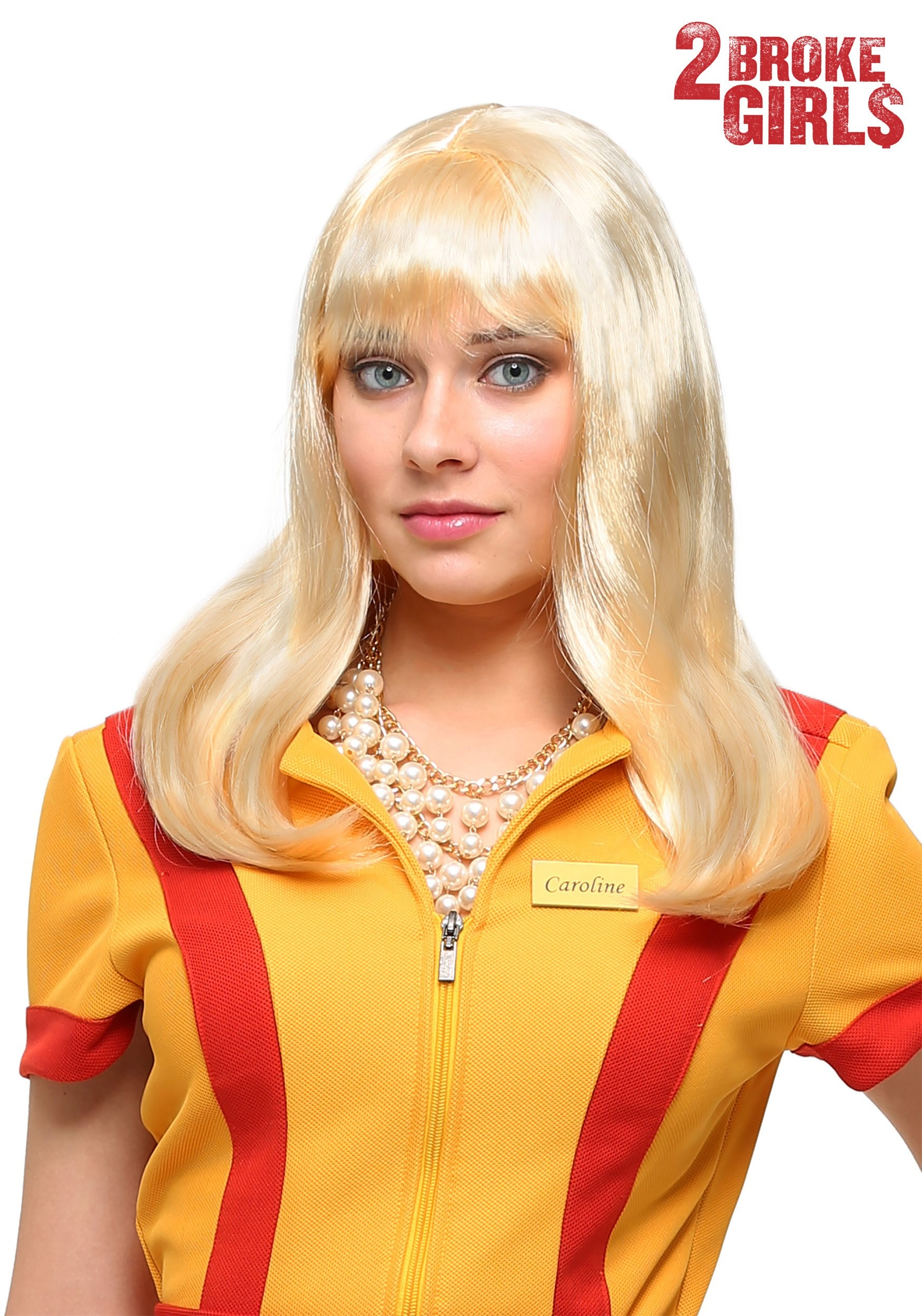 Womens Caroline Wig From 2 Broke Girls