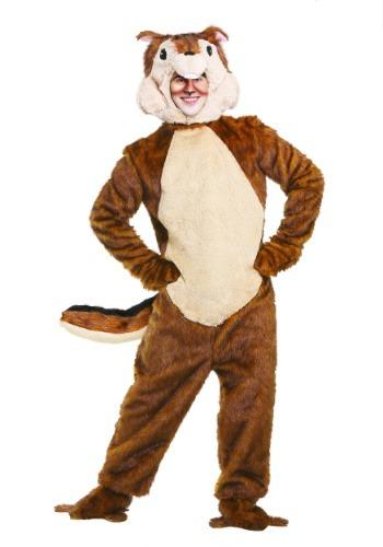 Chipmunk Adult Costume