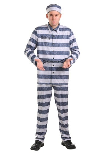 Vintage Prisoner Men's Plus Size Costume