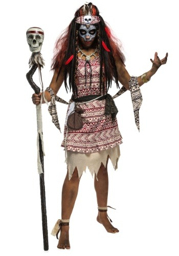 Voodoo Witch Womens Costume