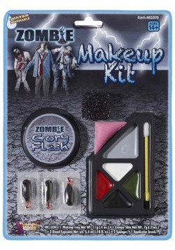 Gory Zombie Makeup Kit