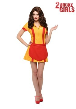 Plus Size Two Broke Girls Waitress Costume