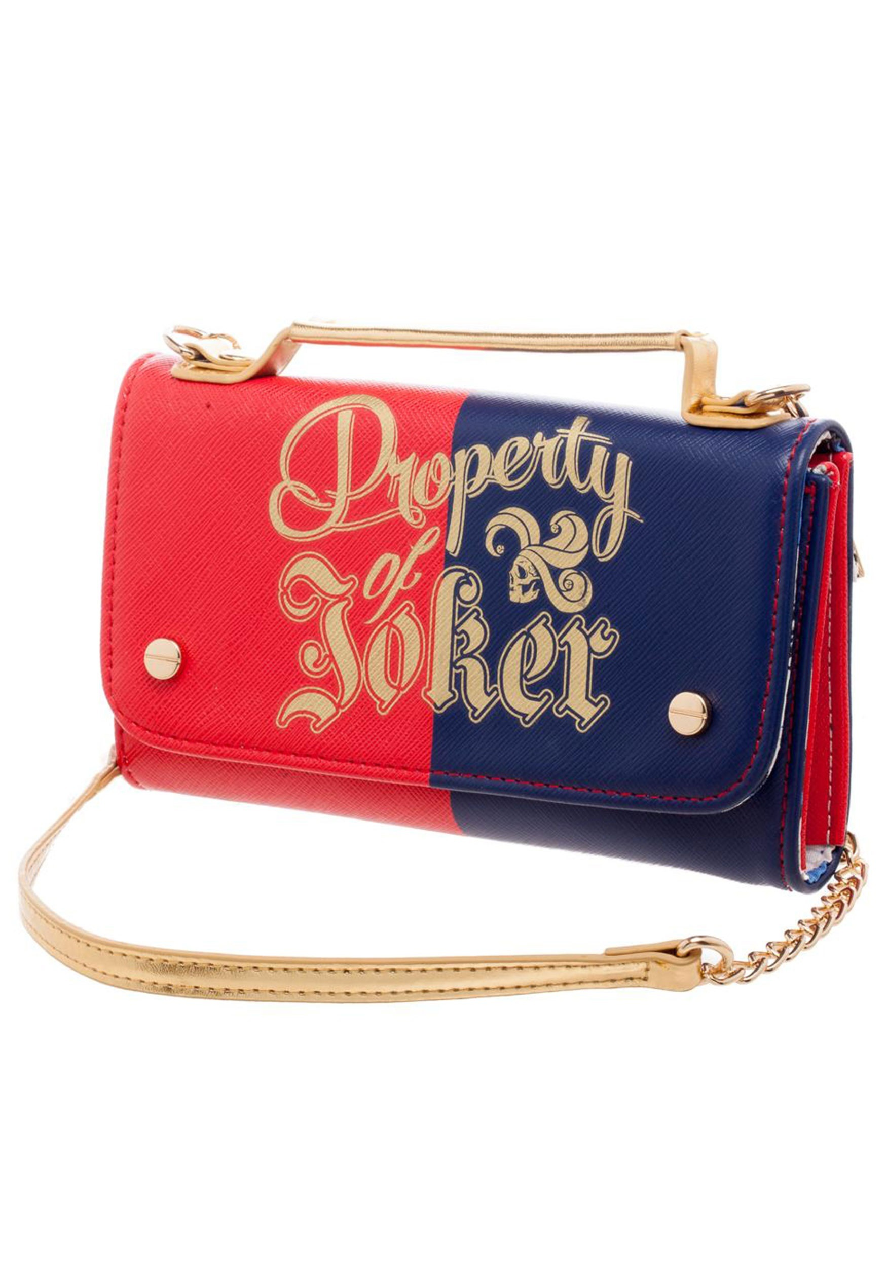 89d751d7e24 Property of Joker Chain Purse for Women