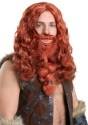 Adult Red Viking Wig and Beard Set
