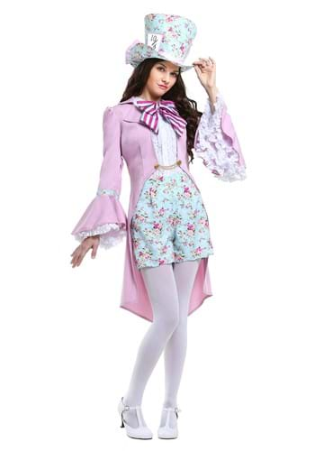 Pretty Mad Hatter Womens Costume