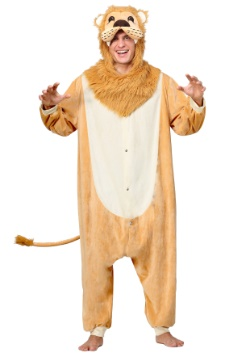 Adult Lion Pajama Costume
