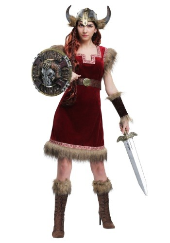 Barbarian Viking Womens Costume
