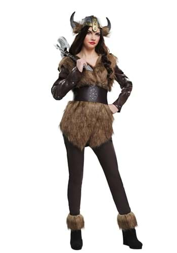 Warrior Viking Womens Costume
