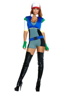Women's Catchin' Em Cutie Costume