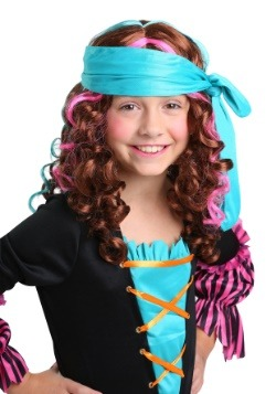 Girl's Pirate Princess Wig