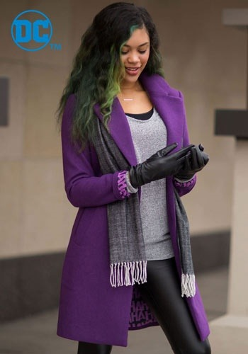 DC Comics The Joker Women's Wool Coat