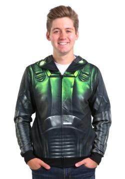 Death Trooper Full Face Zip Hooded Sweatshirt
