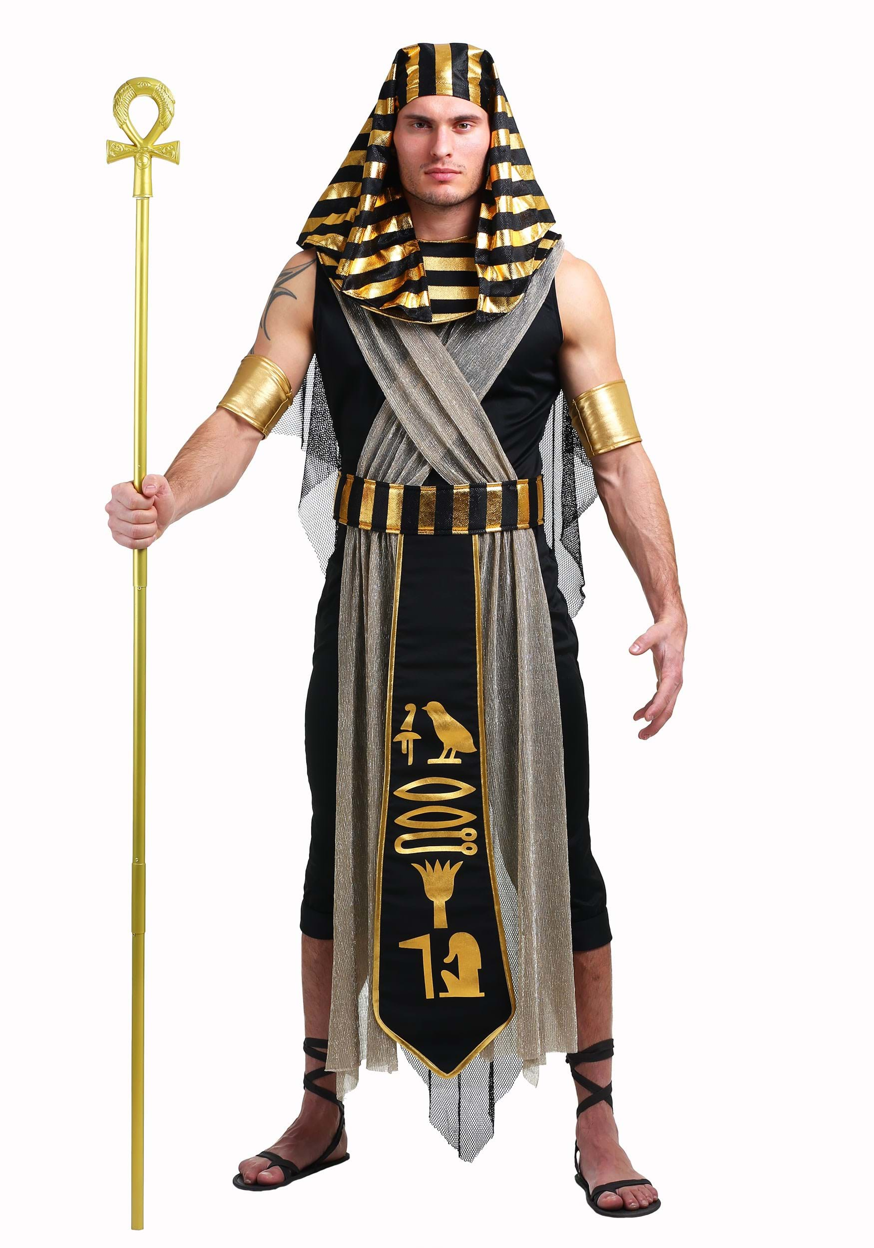 487147aa7f5 All Powerful Pharaoh Costume for Men