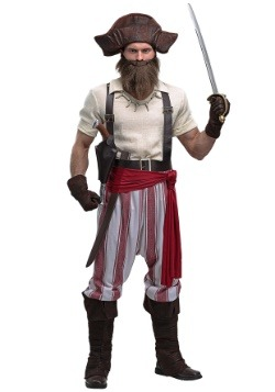 Seven Seas Pirate Plus Size Mens Costume