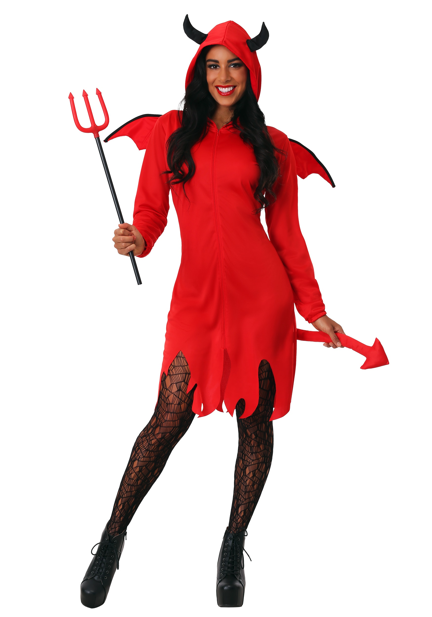 Kids Toy Costume for Party Cosplay Halloween Devils Pitch Fork with Handle Red 24 Inch