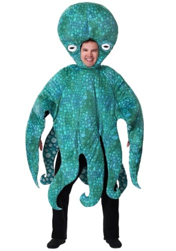 Adult Blue Octopus Costume