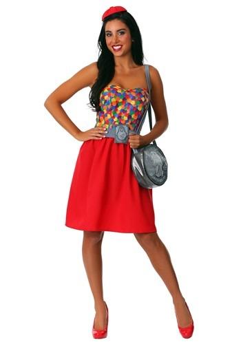 Gumball Machine Costume for Women
