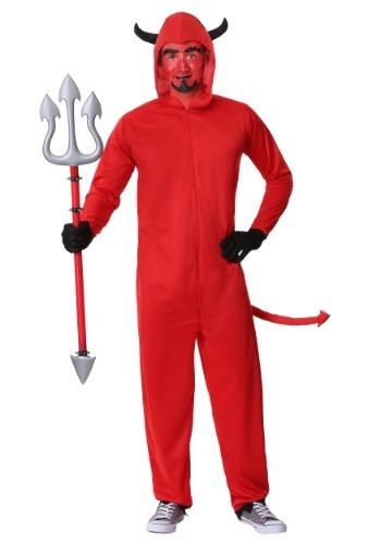 Adult Devil Jumpsuit Costume