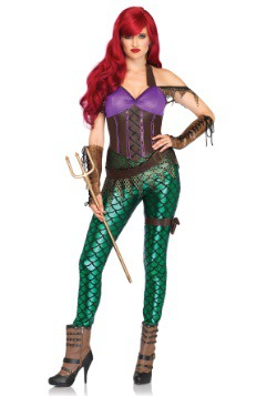Rebel Mermaid Womens Costume