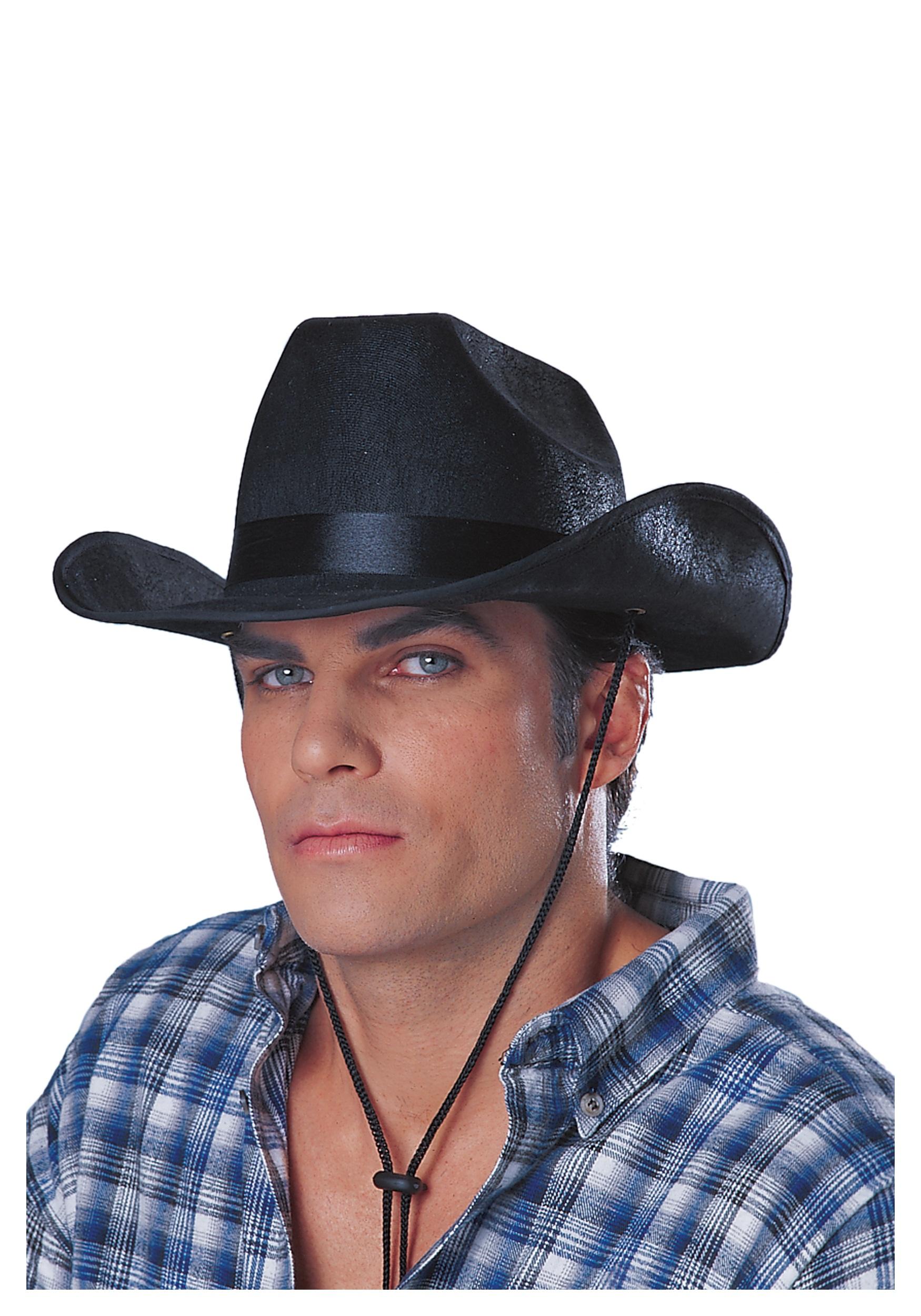 Black Cowboy Rancher Hat 30cc921c7d6