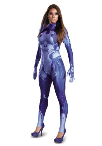Halo Cortana Womens Bodysuit Costume