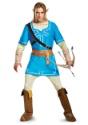 Legend of Zelda Link Breath of the Wild Mens Deluxe Costume