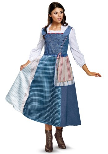 Belle Village Dress Deluxe Womens Costume