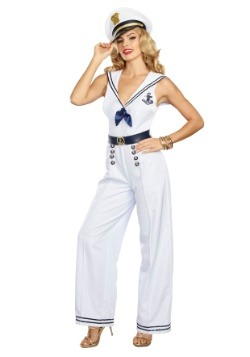 Women's Anchors Away Sailor Costume