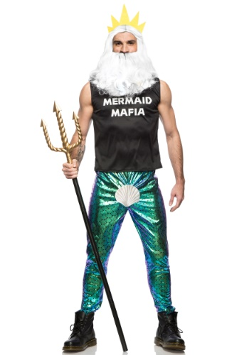 Men's Mermaid Mafia Costume