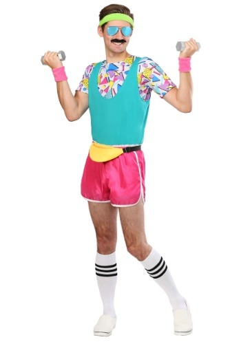 Men's Work It Out 80's Costume