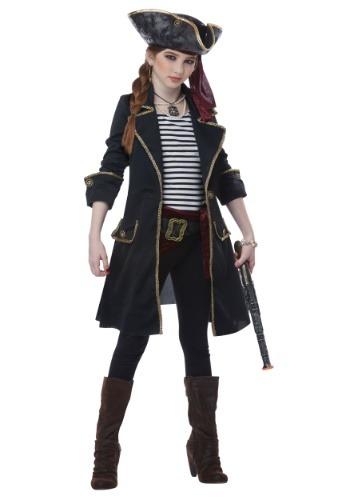 High Seas Captain Girls Costume