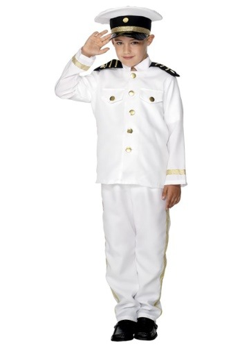 Kids Captain Costume