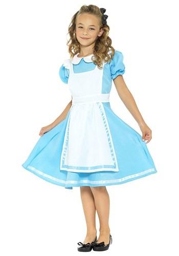 Girls Dreamland Alice Costume