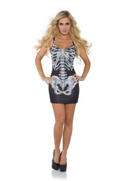 Women's X-Ray Skeleton Dress