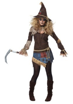 Creepy Scarecrow Womens Costume