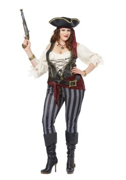 Brazen Buccaneer Plus Size Womens Costume