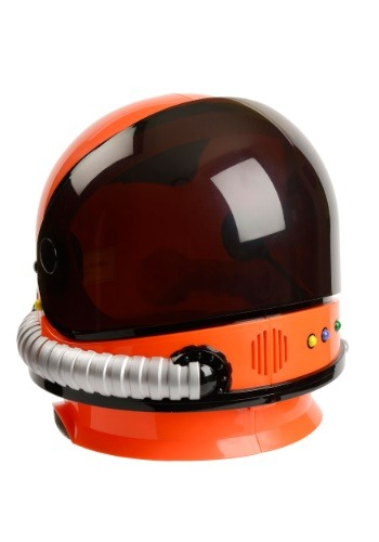 Child Orange Astronaut Helmet