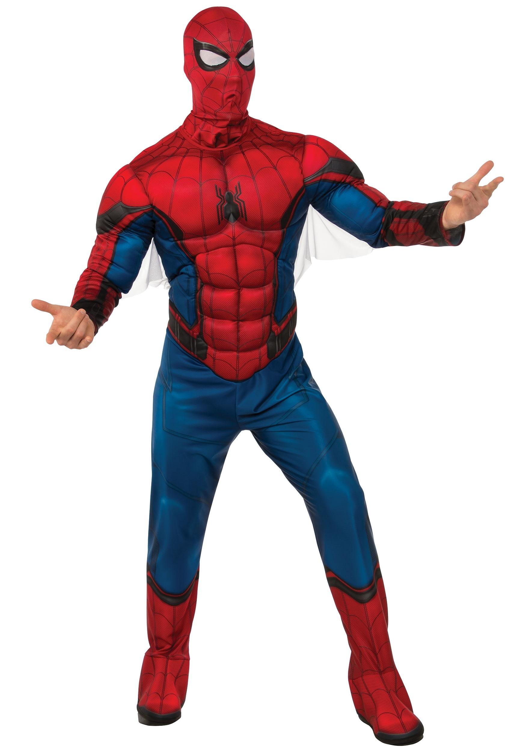 deluxe spider-man costume for men