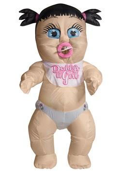 Inflatable Baby Girl Adult Costume