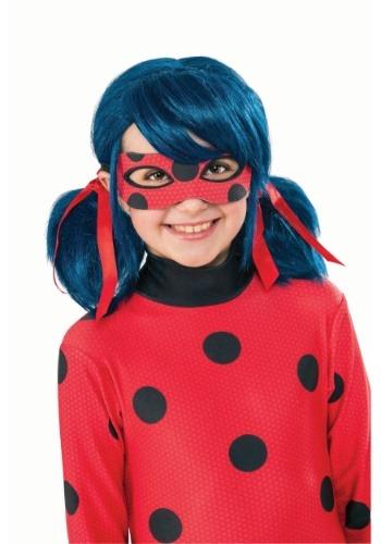 Girls Miraculous Ladybug Wig