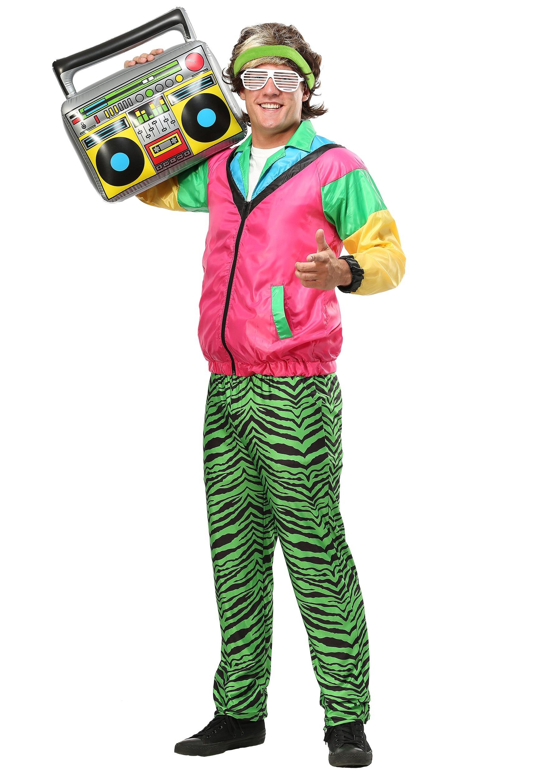 80s Jock Plus Size Costume for Men