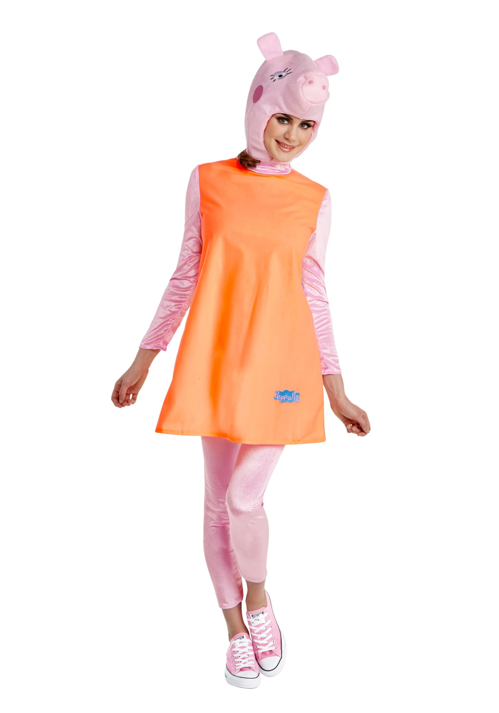 INOpets.com Anything for Pets Parents & Their Pets Mummy Pig Women's Fancy Dress Costume from Peppa Pig