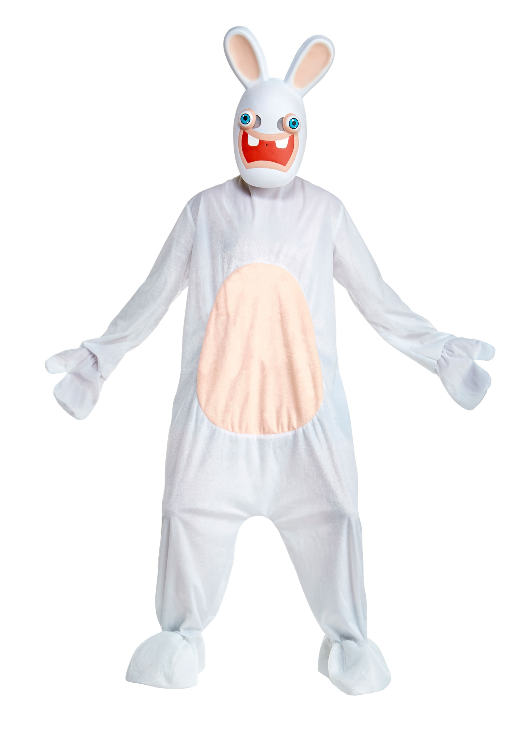 Deluxe Rabbids Fancy Dress Costume for Adults