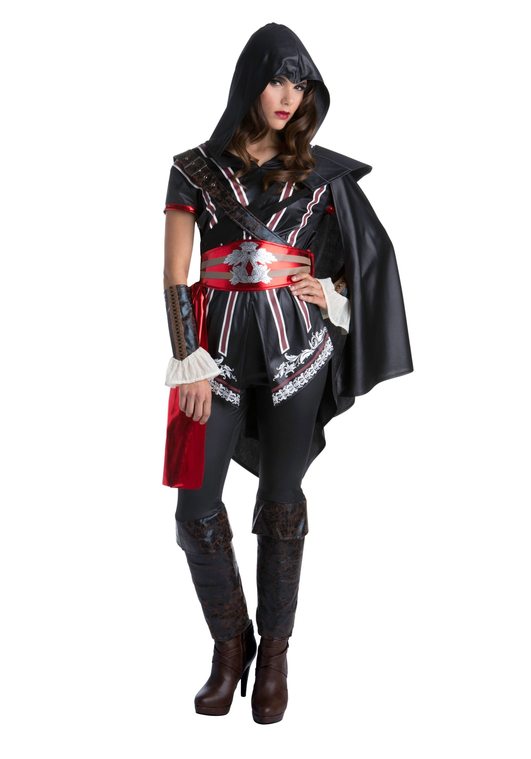 INOpets.com Anything for Pets Parents & Their Pets Assassins Creed Ezio Classic Fancy Dress Costume for Women