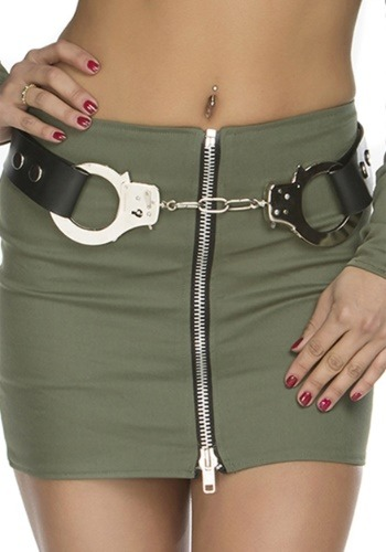 Women's Police Handcuff Belt