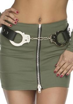 Women's Police Handcuff Belt
