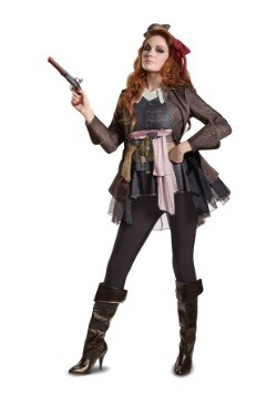 Women's Captain Jack Sparrow Deluxe Costume
