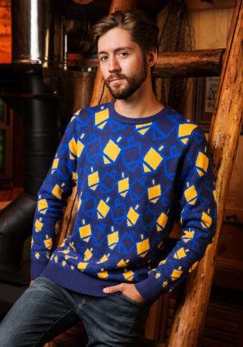 Hanukkah Dreidel Holiday Sweater
